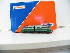 ROCO 43610 E-Lok 646 001 grigio verde della FS serie speciale GIEFFECI sp463
