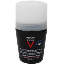 Pack 4x Vichy Homme Deodorant  Anti-Perspirant Roll On Men 50ml 48h