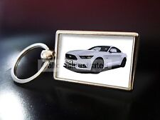 FORD MUSTANG METAL KEY RING. CHOOSE YOUR CAR COLOUR.