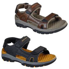 Skechers Mens Strap Sandals Relaxed Fit Tresmen Hirano Adjustable Trail Shoes
