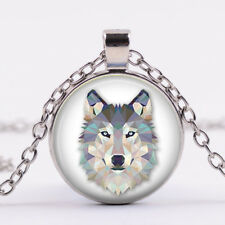 Wolf Necklace Wolf Jewelry Necklace Pendant Charm Wolf Pendant wholesale Silver