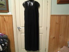 "BLACK ""BEADED NECK"" DRESS SZ 26-NWOT-AUTOGRAPH STUNNING & DRESSY SUMMER IS HERE!"