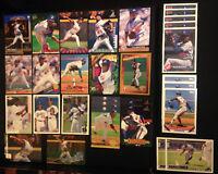 Pedro Martinez Expos Dodgers (30 ct) 1990s Baseball Card Lot; HOF Hall of Famer
