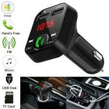 Wireless Bluetooth Car FM Transmitter MP3 Player 2 USB Charger Handsfree Kit