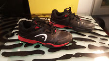 Head Prestige 3 Mens good condition Black Red Tennis Shoes Size 10