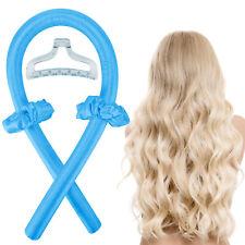 Reusable Heatless Curling Rod Curler Headband Curly Hair Ribbon Soft Curlers