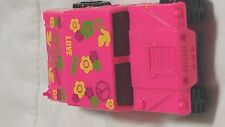 Hot Wheels  Vintage HUMMER Pink w/PEACE and LOVE. Flower  Design Great Quality