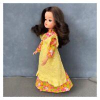 Sindy Pinny Party Maxi Dress & Lace Pinafore 1973 No Doll