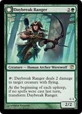 DAYBREAK RANGER Innistrad MTG Green Creature—Human Archer Werewolf RARE
