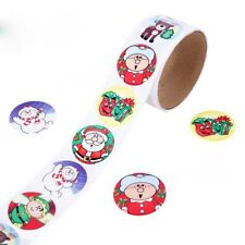 1 Roll 100pcs Christmas Decorative Stickers Adhesive Stickers DIY Diary Stickers