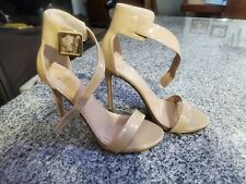 Just Fab Nude High Heels Size 8