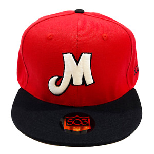 Portland Mavericks Fire Fitted Hat