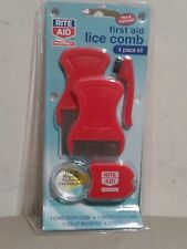 New Lice Comb 4 Piece Kit LICE FIRST AID RITE AID Free Shipping