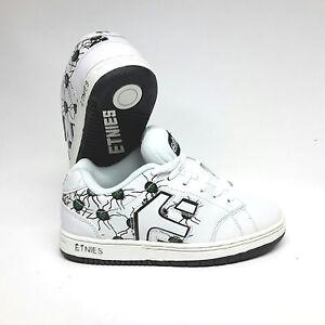Etnies Kids Cinch SMU White/Green/Black Schuhe Turnschuhe Sneaker Gr. 38