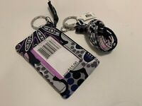 Vera Bradley Mimosa Medallion Zip ID Case AND Lanyard Combo New with tags