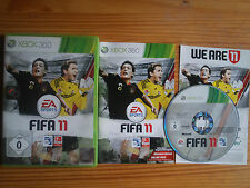 XBOX 360 : FIFA 11 EA SPORTS GAME FUßBALL SOCCER FOOTBALL