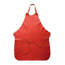 Malle W. Trousseau Kochschürze aus Kalbsleder rot