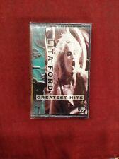 Lita Ford Greatest Hits Cassette Tape 1993 Joan Jett The Runaways Cherie Currie