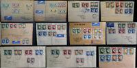 South Africa / SWA 1937 -1947 Coronation Royal Visit KG VI Registered FDC Multi