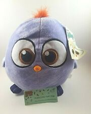 """OFFICIAL 8"""" ANGRY BIRD PURPLE HATCHLINGS ANGRY BIRDS THE MOVIE PLUSH SOFT TOYS"""