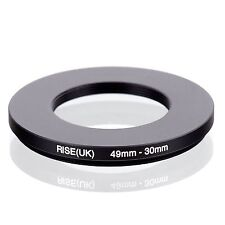 Camera 49mm Lens to 30mm Accessory Step Down Adapter Ring 49mm-30mm