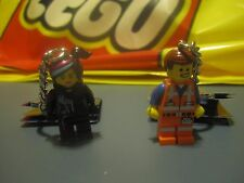 The LEGO Movie EMMET and WILDSTYLE Keychains His - Hers - 850894 850895 NEW