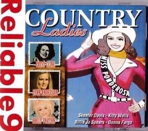 Patsy Cline+Lynn Anderson+Skeeter Davis+Dolly Patton- Country ladies CD 18tracks