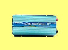 1200W Power Inverter, DC 12V to AC 110V, 60hz, tool, car power, USA stock