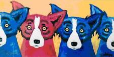 "Blue Dog George Rodrigue  ""Blues Can Hide a Bad Apple""    MAKE OFFER    BA DSS"