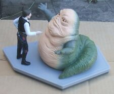 Star Wars Jabba The Hut & Han Solo Jumbo Pvc Figures (1997) Fresh From Case