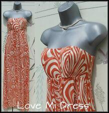 Teatro - Stunning Silk Floor Skimming Maxi Dress Sz 10 EU38