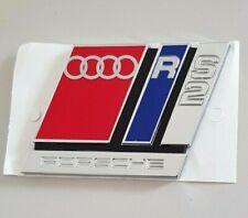 Audi RS2 original Schriftzug Emblem Aufkleber 80 Avant S2 Heckklappe Logo Clip