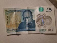 Ak27 Five Pounds Note
