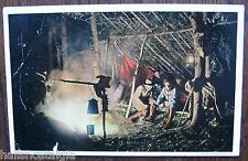 1912 North Conway N.H. (Camp Fires at Night) sent to Somerville Ma