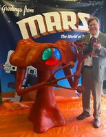 Full-size Replica of George Pal's 1953 Martian from THE WAR OF THE WORLDS