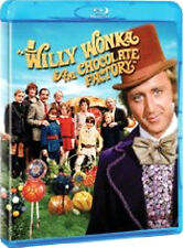 WILLY WONKA AND THE CHOCOLATE FACTORY - BLU-RAY - REGION B UK