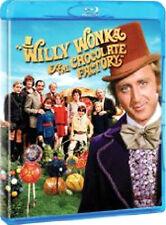 WILLY WONKA AND THE CHOCOLATE FACTORY - BLU-RAY - REGION B UK