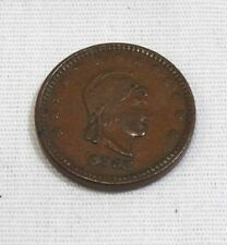 1863 PIERCE & SON CIVIL WAR STORE CARD TOKEN DRY GOODS AND GROCERIES