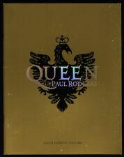 Queen Paul Rodgers Original 2006 North American Tour Concert Program w/Photos