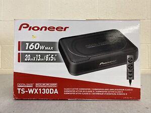 "Pioneer - 8"" Single-Voice-Coil Loaded Subwoofer Enclosure - Black"