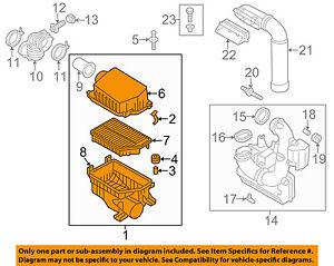 HYUNDAI OEM 11-16 Elantra Air Cleaner Intake-Filter Box Housing 281103X300