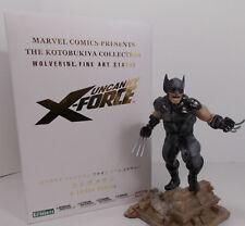 Brand New Sealed Box Kotobukiya Fine Art Statue Wolverine Uncanny X-Force MK132