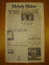 MELODY MAKER 1948 DEC 25 MAURICE WINNICK AMBROSE JAZZ