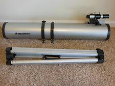 Celestron Power Seeker 114 EQ Reflector Telescopewith Stand Model 21045