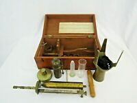 MANLEYS PATENT ALCOHOLMETER by J LONG + Saccharometer vintage museum piece