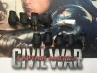 Hot Toys Winter Soldier Civil War MMS351 Hands x 9 & Pegs loose 1/6th scale