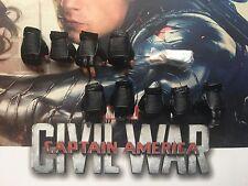 HOT TOYS WINTER SOLDIER guerre civile MMS351 Mains X 9 & Chevilles loose échelle 1/6th