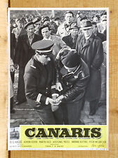 CANARIS fotobusta poster affiche Wilhelm Hasse Martin Held Hoven Nazism E29