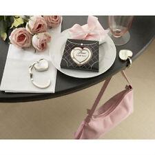 100 Heart Purse Valet Stainless Steel Handbag Holder Wedding Bomboniere Favour