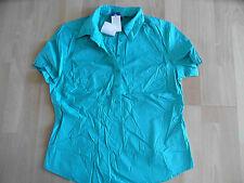 HEMA Stretch schönes Blusenshirt grün Gr. 42   NEU ZC
